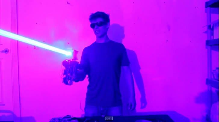 escopeta laser