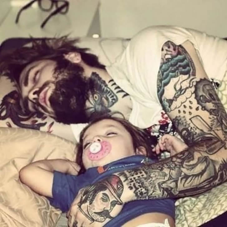 Padres tatuados 12