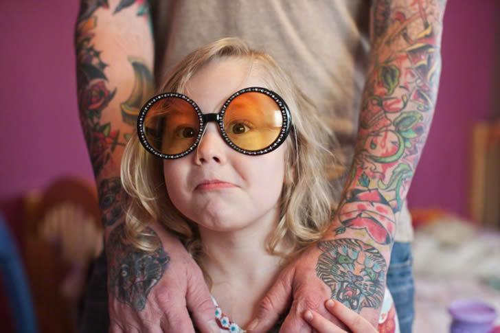 Padres tatuados 14