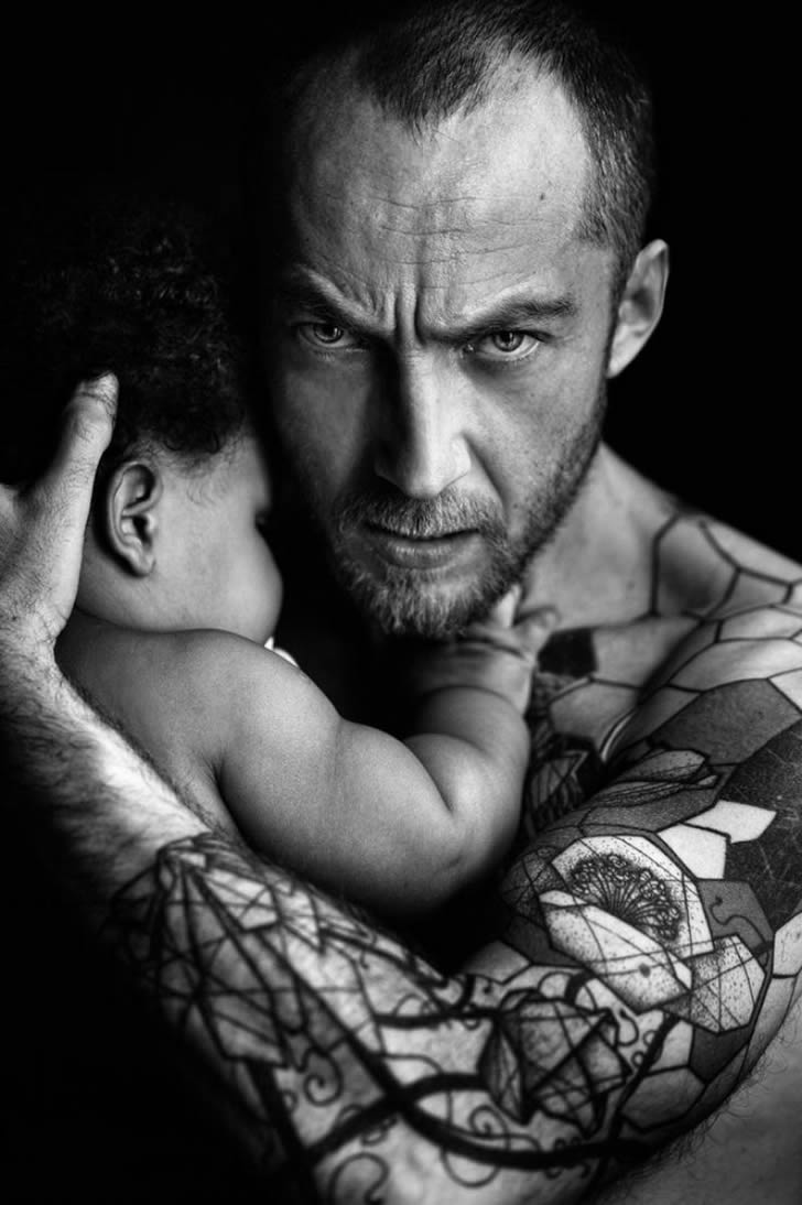 Padres tatuados 22