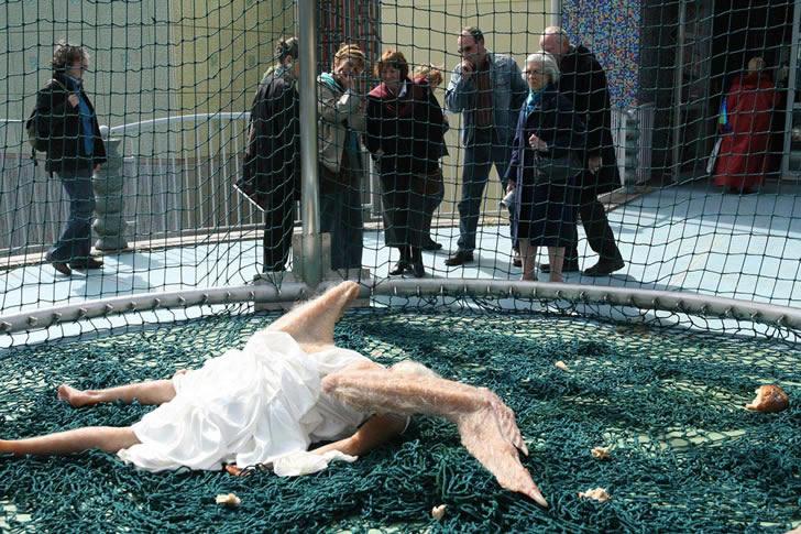 Angel caido escultura (4)
