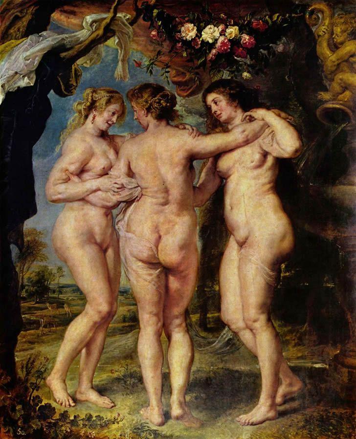 Las tres Gracias Rubens