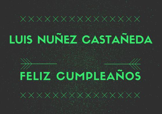 Luis Nuñez Castañeda