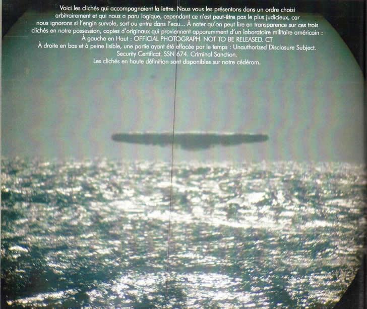 OVNI en el oceano artico (2)