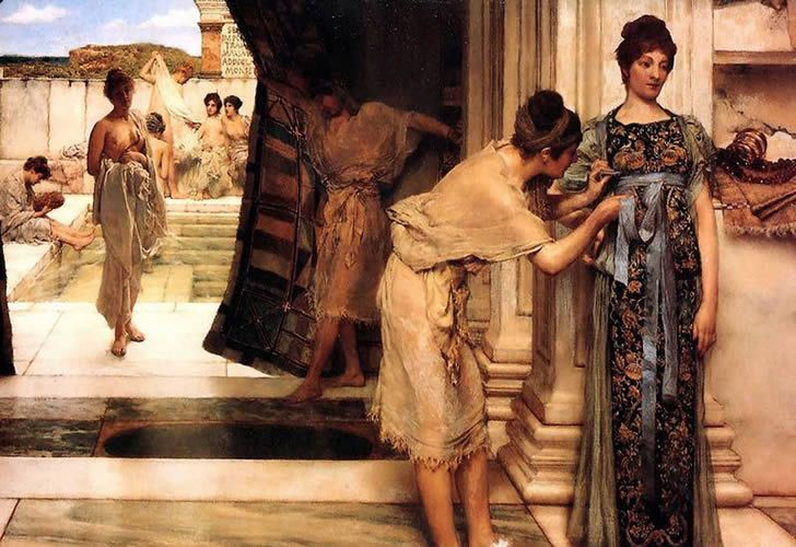 The Frigidarium' - Lawrence Alma-Tadema
