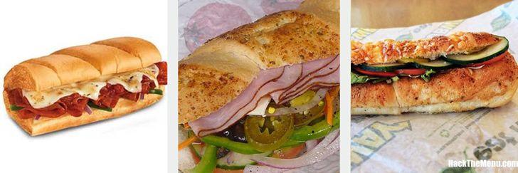 comida secreta subway