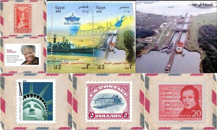 errores sellos postales