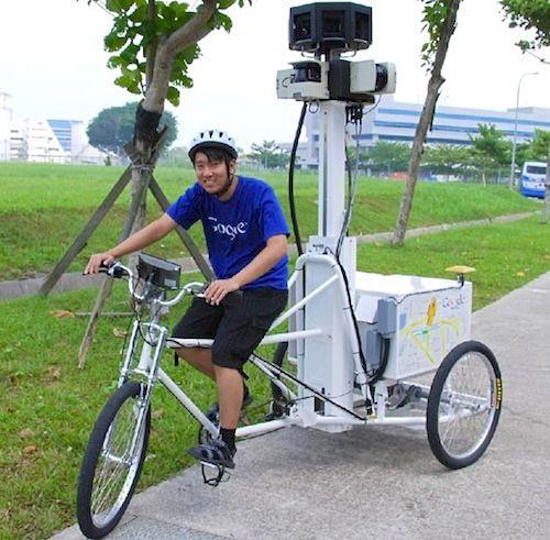 google streetview bicocleta