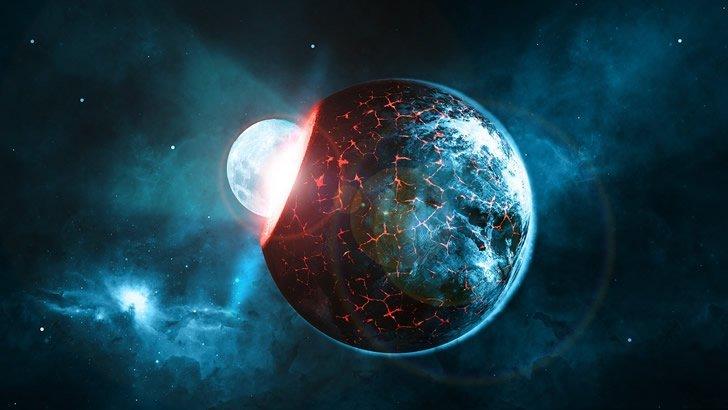 planeta impacto asteroide