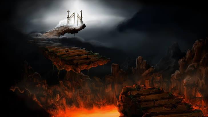 puertas cielo infierno