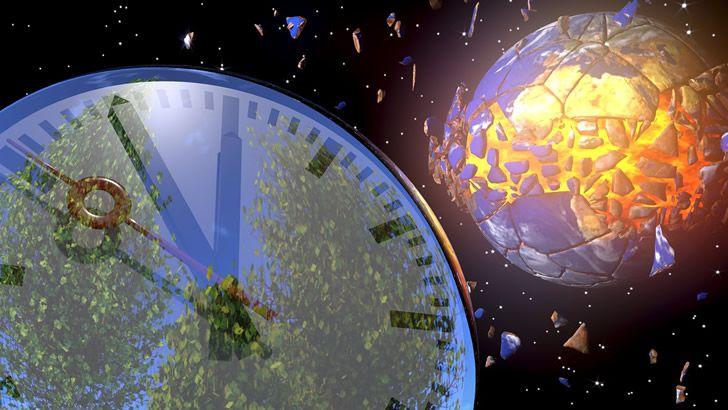 reloj universo destruccion