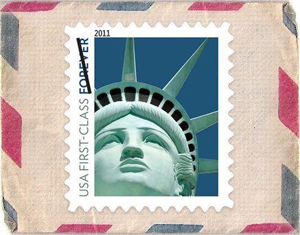 El error en la foto fue descubierto por un coleccionista de sellos.
