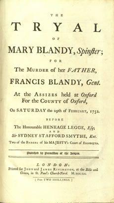 sentencia mary blandy