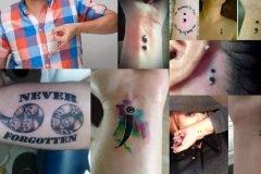 ¿Qué significado tiene el tatuaje punto y coma?