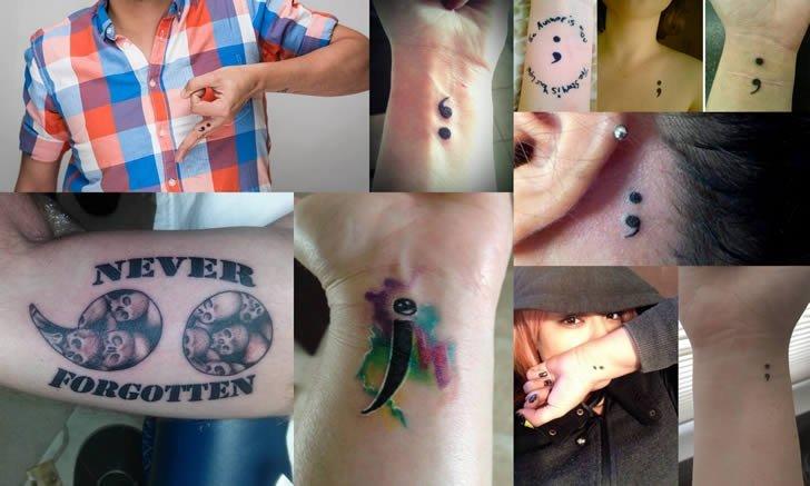 Qué Significado Tiene El Tatuaje Punto Y Coma Marcianos
