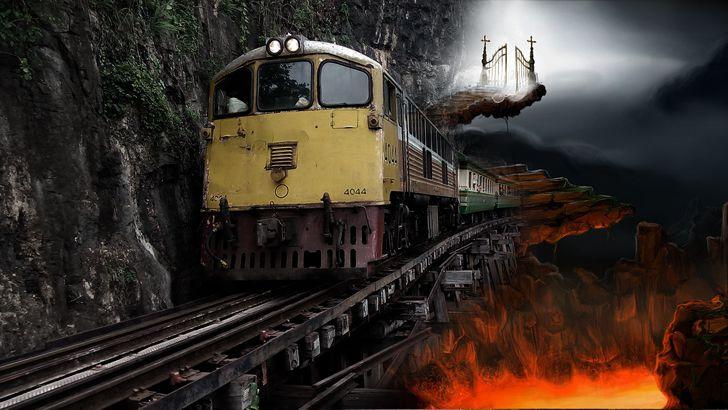 tren muerte