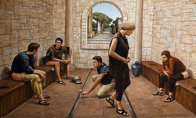 wc-roma antiguo