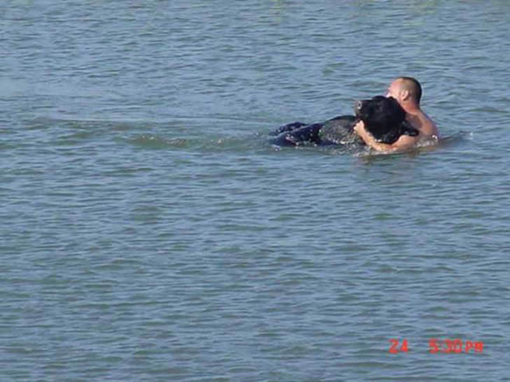 Adam Warwick rescate oso (5)