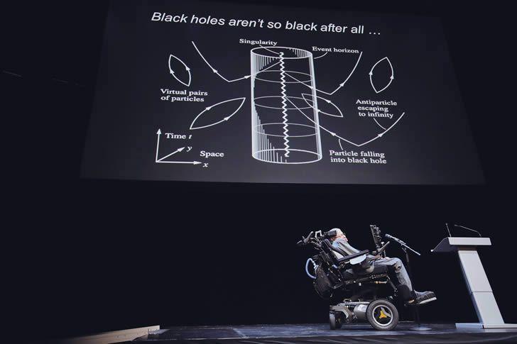 Conferencia sobre la Radiación Hawking