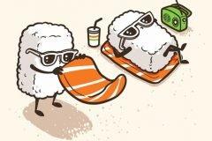 Las adorables ilustraciones de Chow Hon Lam