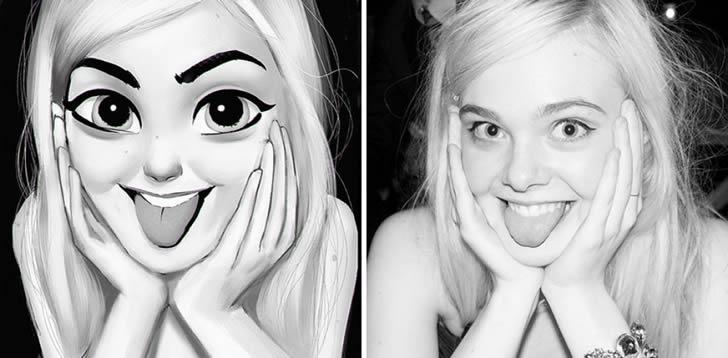 Ilustraciones retratos aleatorios (10)