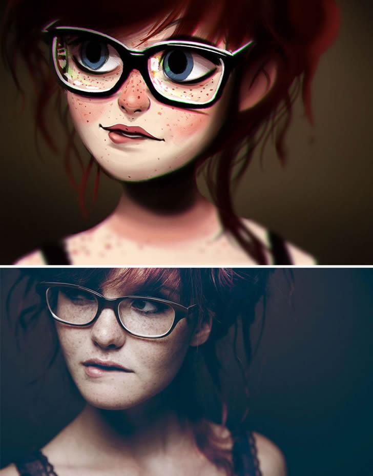 Ilustraciones retratos aleatorios (12)