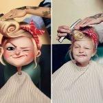 De retratos aleatorios a divertidas ilustraciones