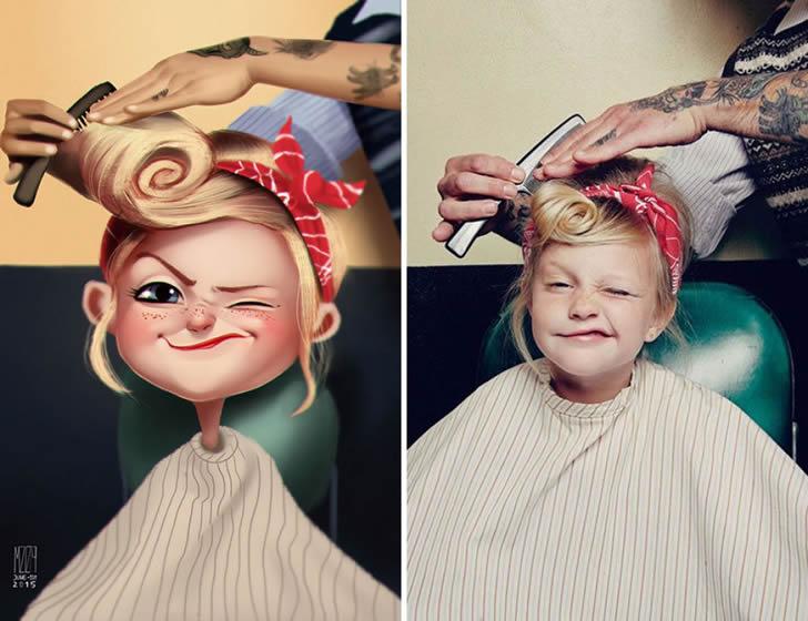 Ilustraciones retratos aleatorios (13)