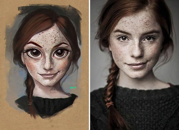 Ilustraciones retratos aleatorios (4)