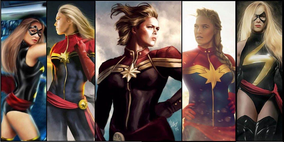 Ronda Rousey Capitán Marvel