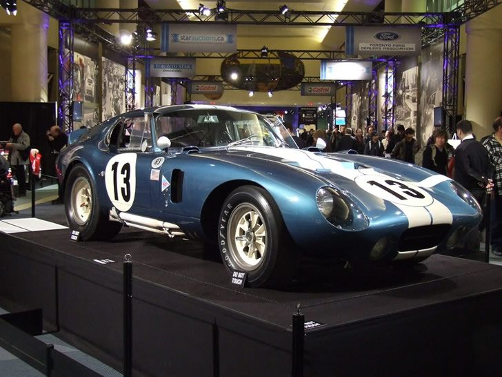 Shelby Cobra Daytona Coupé restaurado