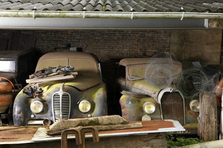 autos clásicos abandonados (2)