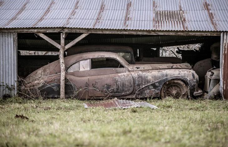 autos clásicos abandonados (3)