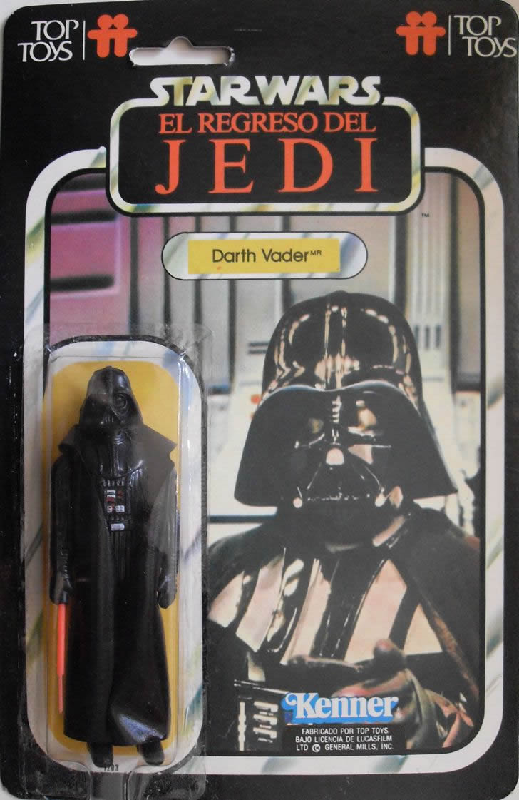 darth vader 1980 top toys