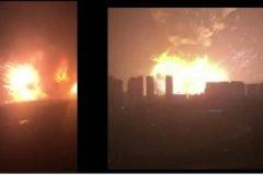 Apocalípticas explosiones en Tianjín, China