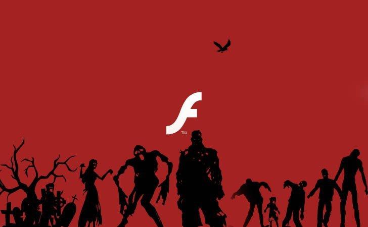 flash muerto