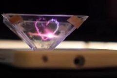 Convierte tu smartphone en un holograma 3D + VIDEOS