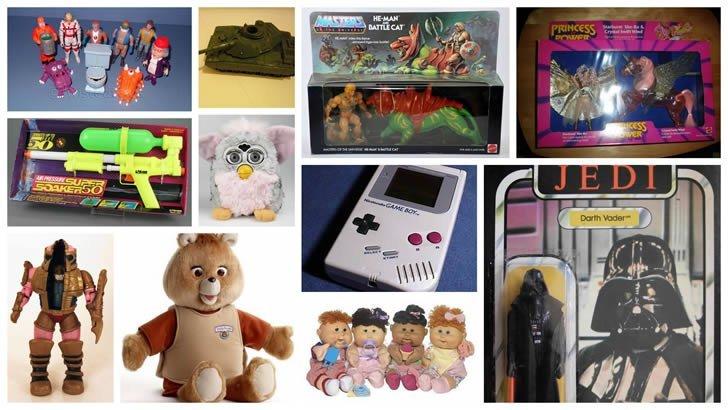 juguetes 80 y 90