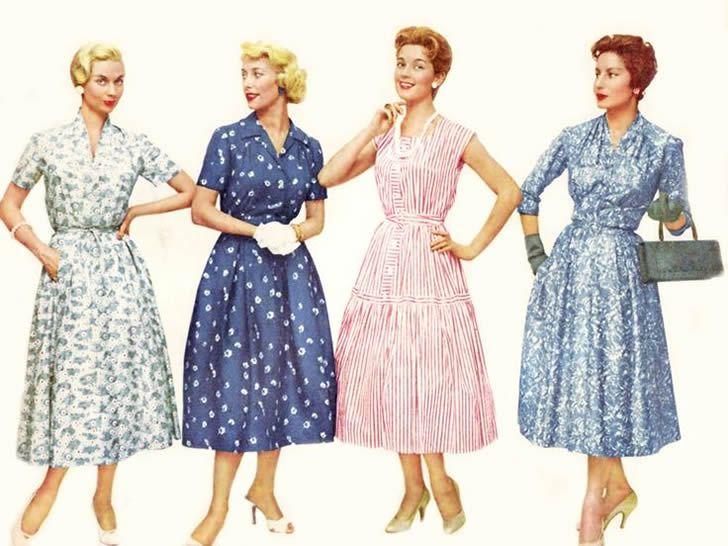 mujeres de 1960