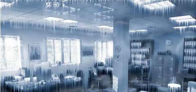 oficina congelada