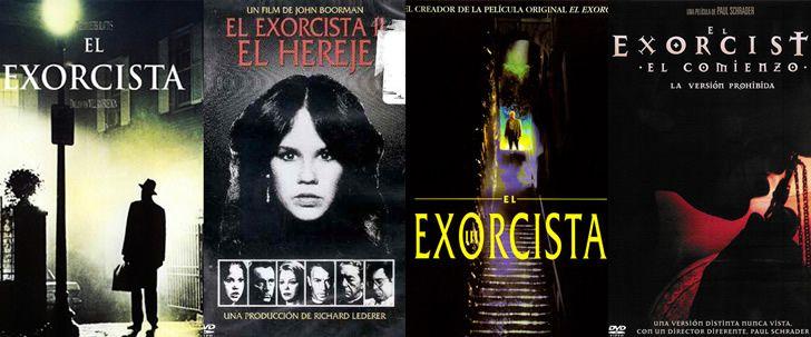 saga peliculas el exorcista