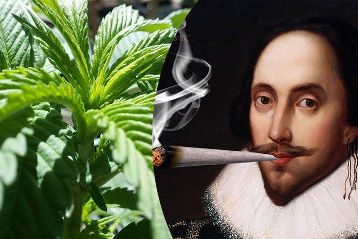 Shakespeare tuvo tanto éxito gracias a la marihuana?