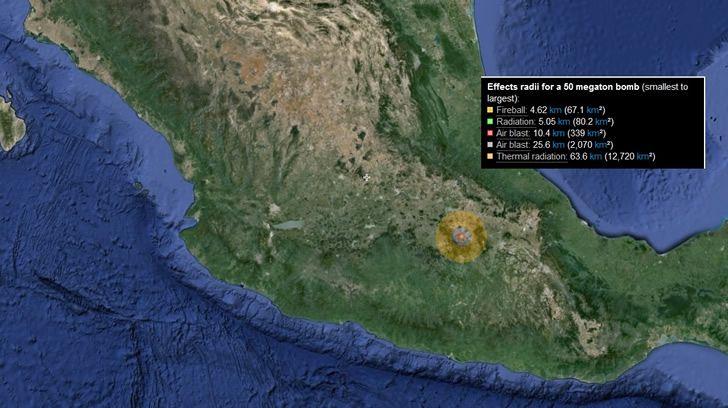 tasr bomba mexico