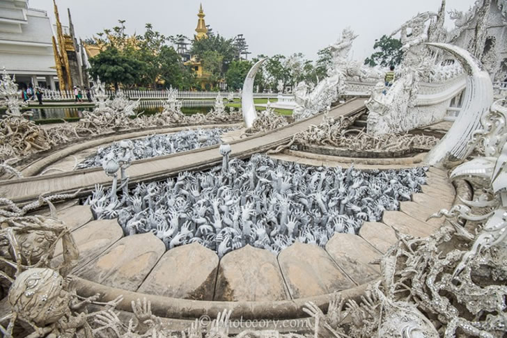 templo blanco tailandia (1)