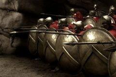 Los guerreros de Esparta