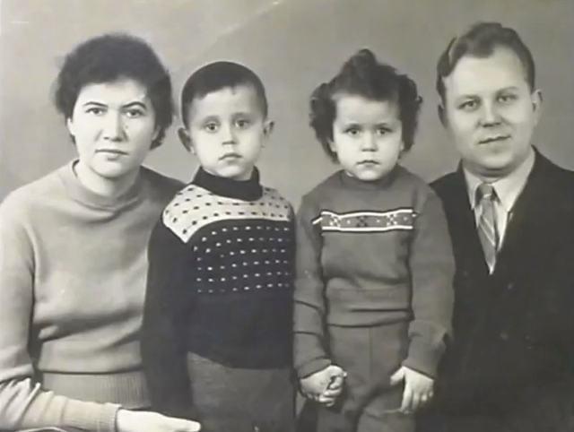 Oleg Mitasov familia