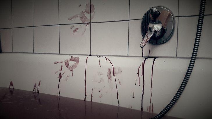 baño sangre
