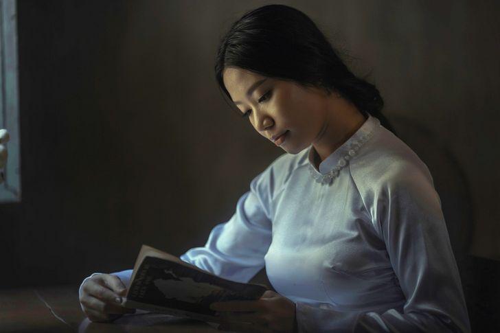 estudiante asiatica