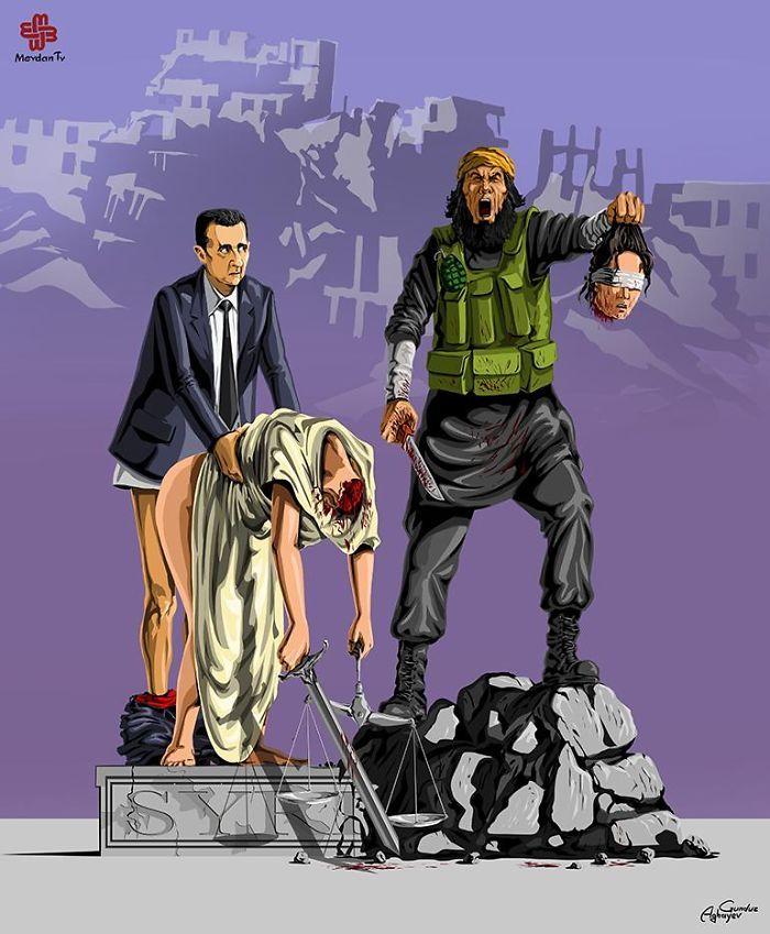 ilustraciones satira politica (7)