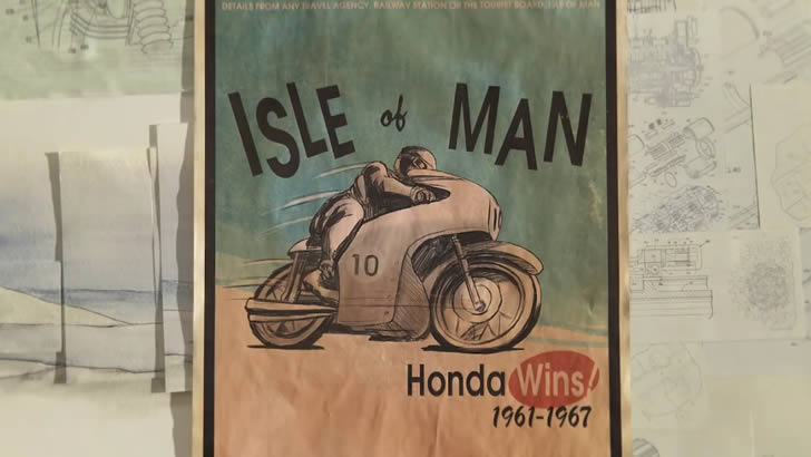 isle of man honda wins